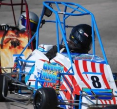 Quarter Midget USA Car On Track