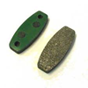 MCP BRAKE PAD FOR ALUMINUM ROTOR (GREEN)
