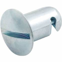 Allstar Quick Turn Fastener Oval Head 7/16 x.500 Aluminum Pk of 10